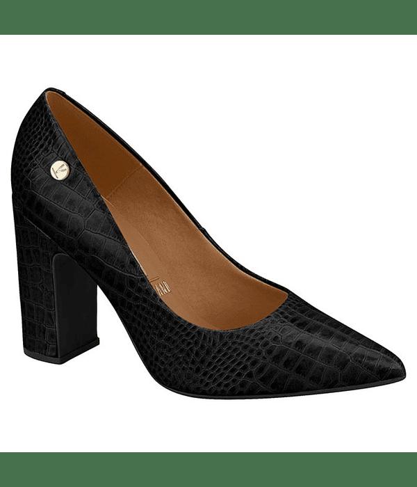 Zapato Vizzano Croco Negro