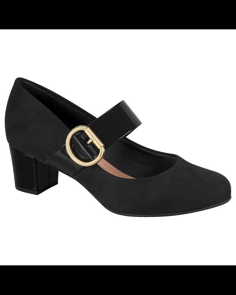Zapato Negro Beira Rio 4777-349-13972-15745