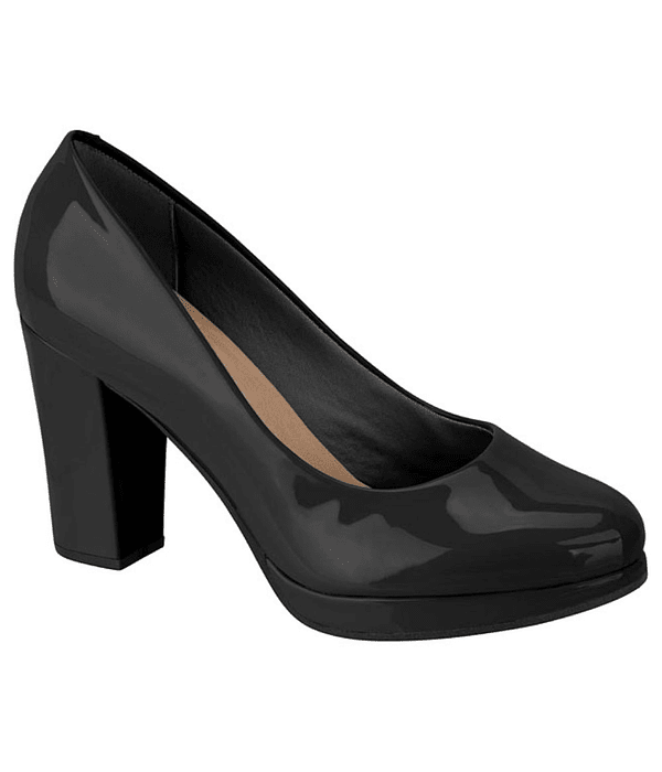 Zapato Negro Beira Rio 4249-100-13488-15745