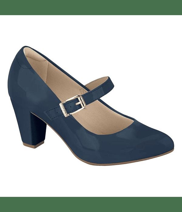 Zapato Cerrado Modare Azul Premium