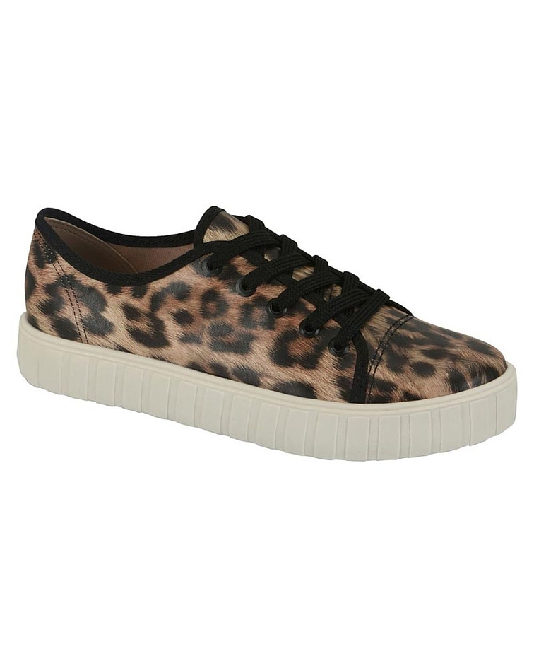 Zapatilla Beira Rio Animal Print 4271-100-18678-21016