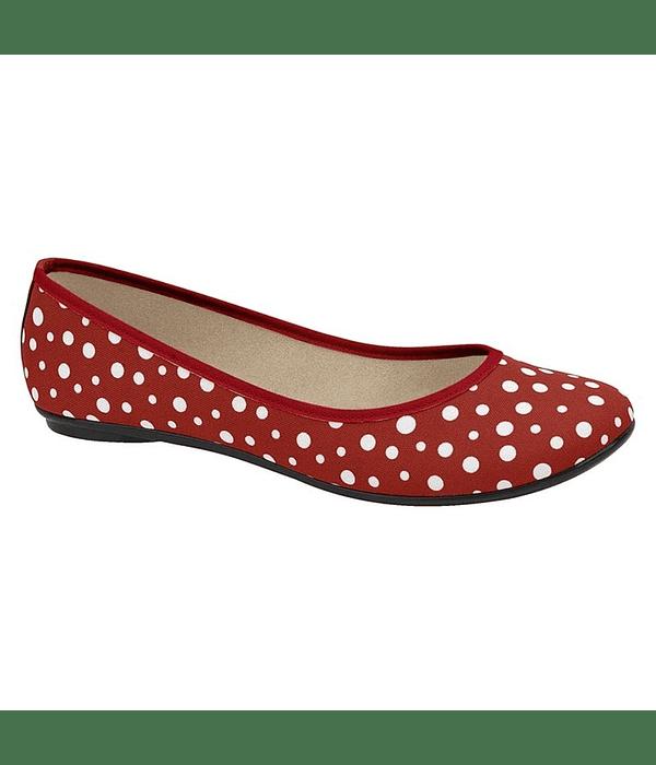 Ballerina Rojo Moleca 5726-100-21732-13173