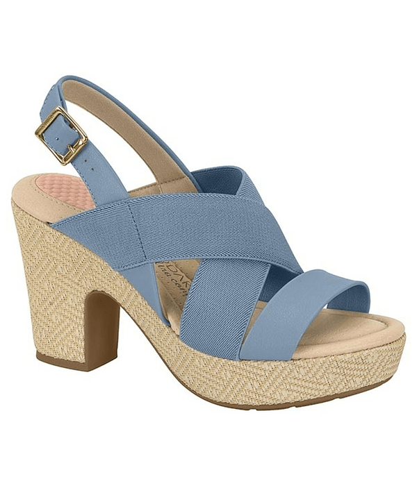 Sandalia Modare Azul Jeans 7165-203-23154-82332