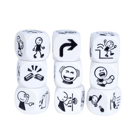 Story Cubes Acciones - Juego de Mesa - Español