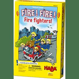 Fire! Fire! Fire Fighters - juego de Mesa - Español