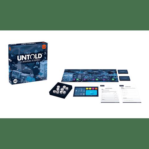 Untold: La Aventura Te Espera - Juego de Mesa - Español