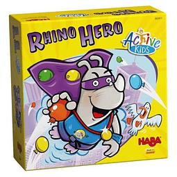 Rhino Hero Active Kids - Juego de Mesa - Inglés