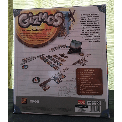 Gizmos - Juego de Mesa - Español