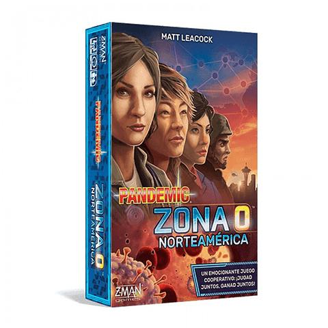 Pandemic: Zona 0 Norteamérica - Juego de Mesa - Español