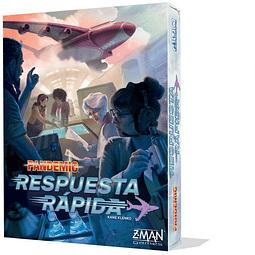 Pandemic: Respuesta Rápida - Juego de Mesa - Español
