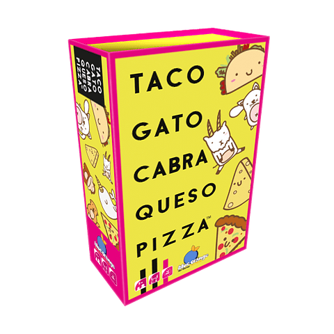 Taco Gato Cabra Queso Pizza - Español