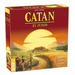 Catan Básico - Juego de Mesa - Español