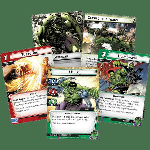 Marvel Champions Pack de Heroe Hulk - Español