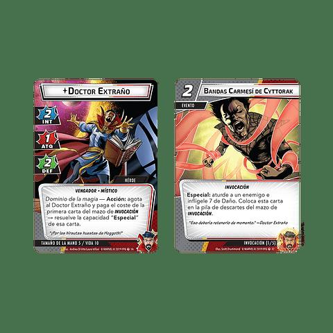 Marvel Champions Pack de Heroe Dr. Extraño - Español