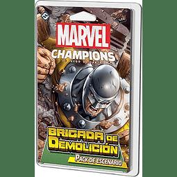 Marvel Champions Brigada de Demolición - Expansión - Español