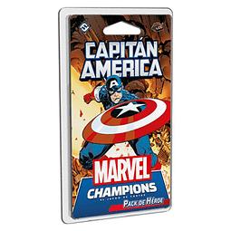Marvel Champions Pack de Heroe Capitan America - Español