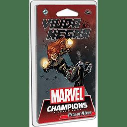 Marvel Champions Pack de Heroe Viuda Negra - Español