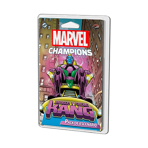 Marvel Champions Pack de Escenario Antiguo y Futuro Kang - Español