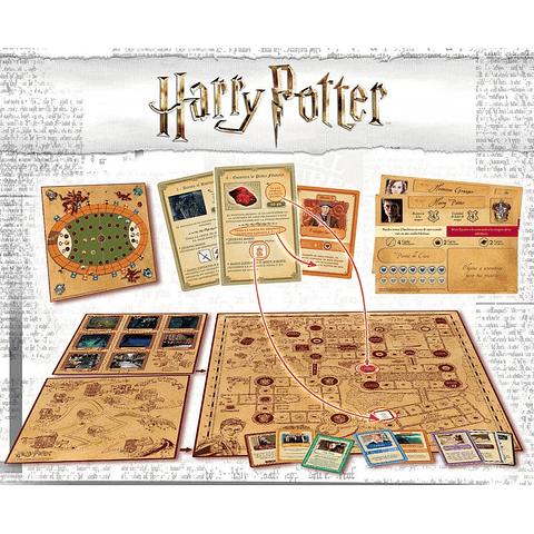 Harry Potter: Un Año en Hogwarts - Juego de Mesa