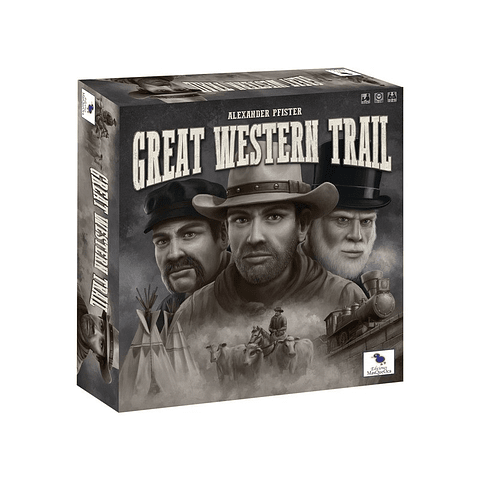 Great Western Trail - La Gran Ruta del Oeste - Juego de Mesa - Español