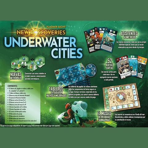 Underwater Cities New Discoveries - Juego de Mesa - Español