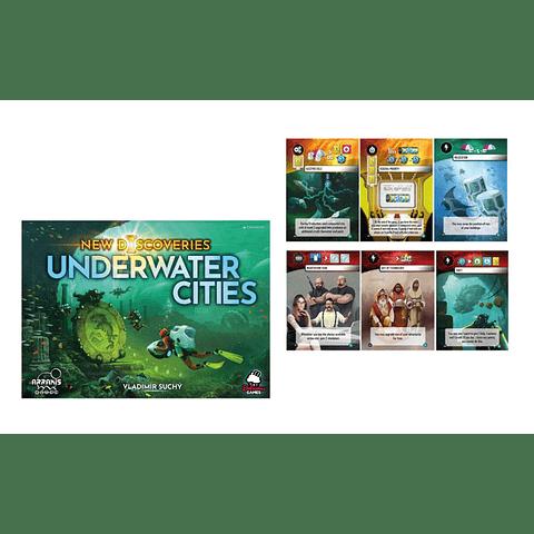 Underwater Cities - Expansión New Discoveries - Español