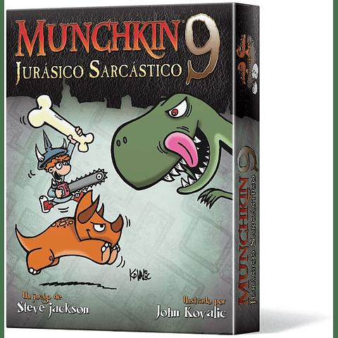 Munchkin 9: Jurásico Sarcástico - Juego de Mesa - Español (Preventa)