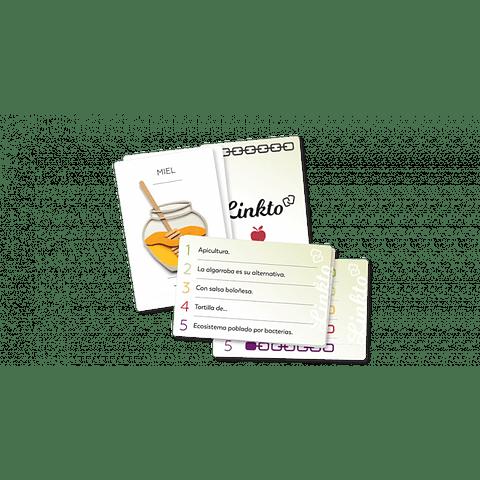 LinkTo Alimentos - Juego de Mesa - Español (Preventa)