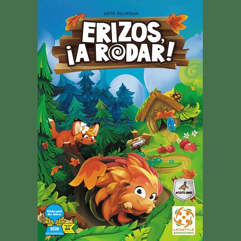 Erizos, ¡A Rodar! - Juego de Mesa - Preventa - Español