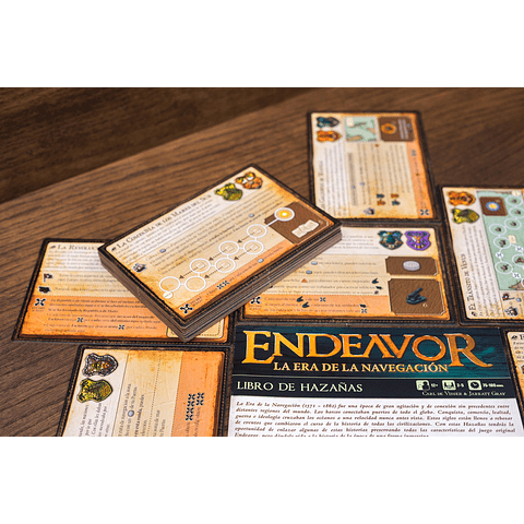 Endeavor: La era de la navegación - Juego de Mesa - Preventa - Español