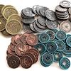 Preventa - Monedas Metálicas Scythe - Juego de Mesa