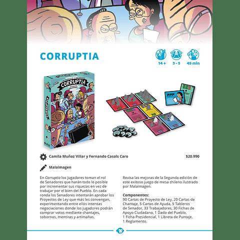 Corruptia - Juego de Mesa - Español