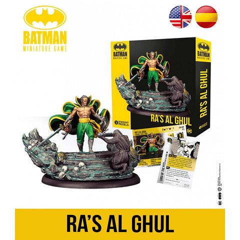 Preventa - Batman Miniature Game: Ra's Al Ghul - Español