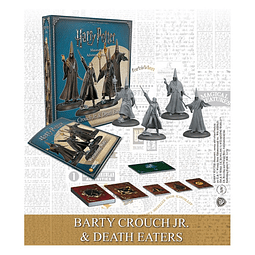 Preventa - Harry Potter Miniature Games - Barty Crouch Jr. y Mortifagos