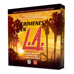 Detective - Expansión Crímenes en LA - Español