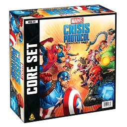 Marvel Crisis Protocol - Miniatures Game - Ingles