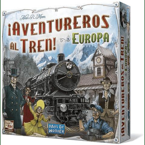 Aventureros al Tren Europa - Español