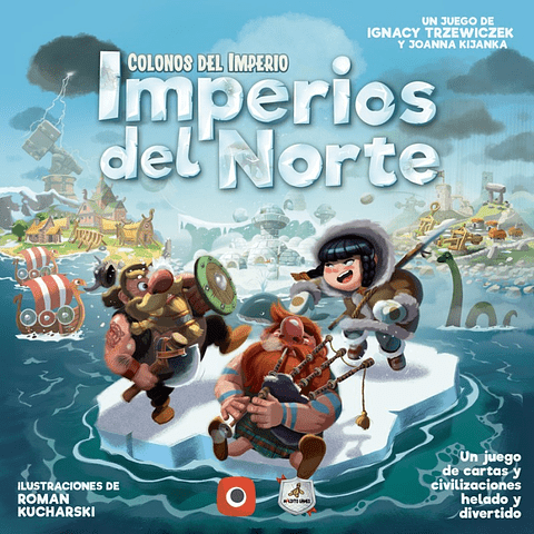 Colonos del Imperio: Imperios del Norte - Español - Preventa