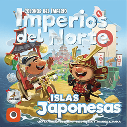 Colonos Del Imperio: Imperios Del Norte - Islas Japonesas - Español - Preventa