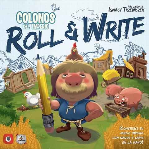 Preventa - Colonos del Imperio: Roll & Write - Español