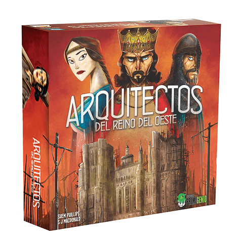 Arquitectos del Reino del Oeste - Español - Preventa