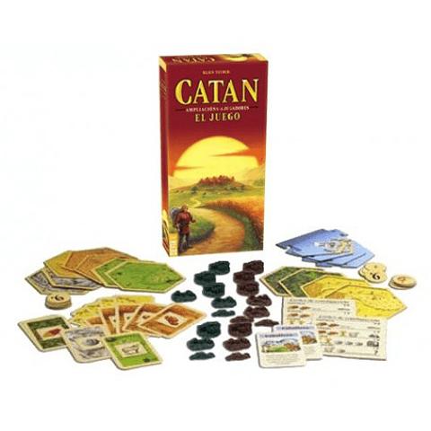 Catan Ampliación 5-6 jugadores - Español