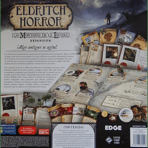 Eldritch Horror: Las montañas de la locura - Expansión - Español