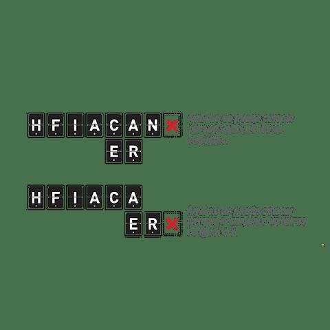 4 en letras - Español - Preventa