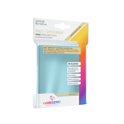 Game Genic - Protectores Prime - Dixit (81 x 122 mm)