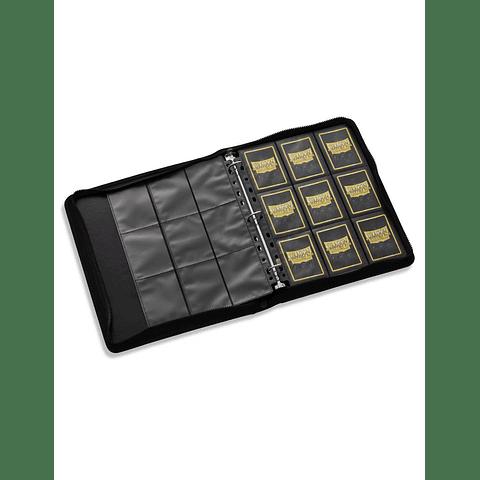 Portafolio Binder -Zipster Binder - Negro