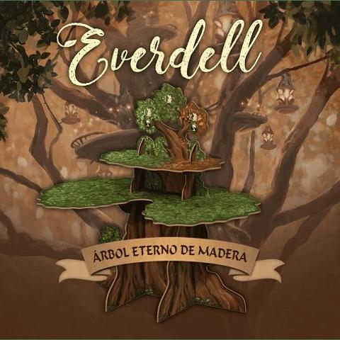 Preventa: Everdell: Árbol Eterno De Madera
