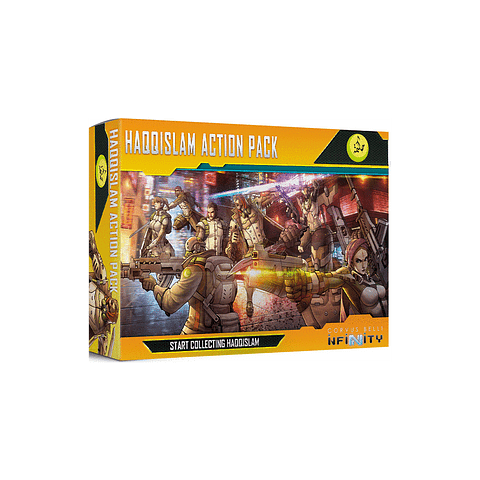 Haqqislam Action Pack - Infinity - Preventa