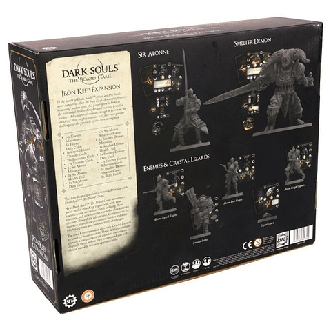 Preventa - Dark Souls: The Board Game - Iron Keep Expansion - Ingles