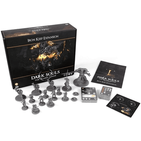 Dark Souls: The Board Game - Iron Keep Expansion (Inglés) - Preventa